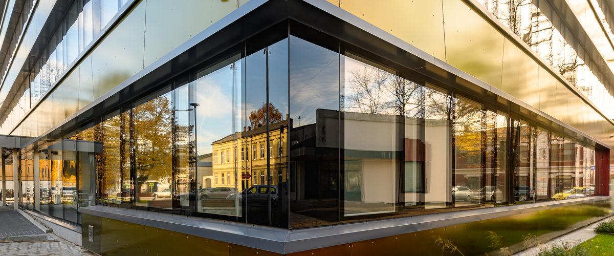 Strukturālais stiklojums projektā Liepājā